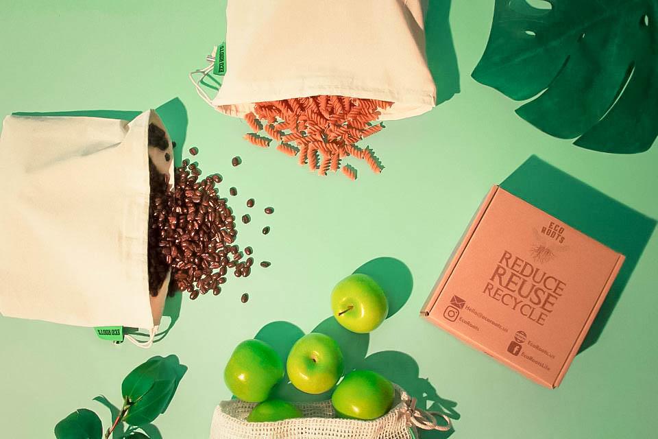 zero waste produce bags